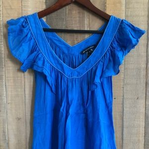 French Connection Blue Blouse